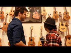 Thanks to ukulele underground for stopping by our namm both to get the