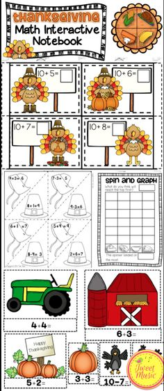 This Thanksgiving Math Interactive Notebook Mini-Unit will make a wonderful addition to your classroom. A Mathematics Common Core standard is addressed and displayed in each interactive notebook activity. 8 Interactive Math Activities are included! $