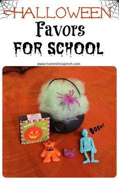 Halloween Favors/ Halloween gifts/handouts #halloween #halloweenfavors www.mommininapinch.com