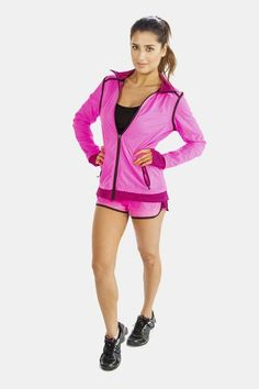 Alanic Clothing: The Leading Global Clothing Manufacturer: The Funky Range of Yoga Shorts Introduced by Alanic, The Reputed Online Shop Yoga Jacket, Pink Workout, Jackets For Women, Clothes For Women, Black Yoga, Pink Shorts, Yoga Shorts, Workout Shorts