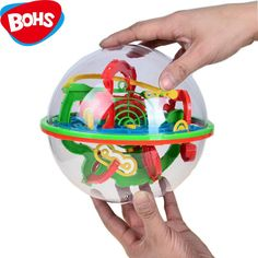 Fine 3d Magic Maze Ball 75 Levels Intellect Ball Rolling Ball Puzzle Game Brain Teaser Children Learning Educational Toys Orbit Game Elegant In Style Puzzles