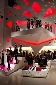 H store, Las Vegas store design