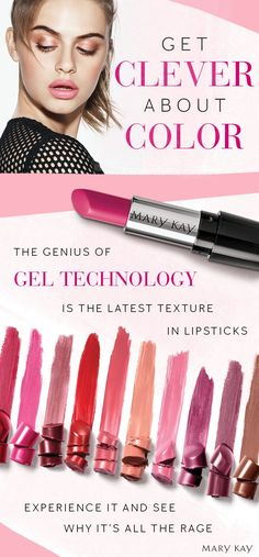 Meet our latest lipstick! The NEW Mary Kay® Gel Semi-Shine Lipstick finish delivers soft light reflection and radiant color with luminous shine.