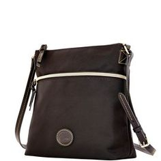 Dooney & Bourke | Nylon Crossbody |Must Have Fashion    Black Handbag | Black Accessory | Black Accessories | Black Purse |Neutral Handbag | Neutral Accessory | Neutral Accessories | Neutral Purse |  Fashion | Style