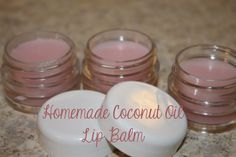 His Mercy is New: Homemade Coconut Oil Lip Balm