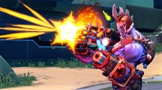 Battleborn.    I signed up to play in the closed technical test in October 2015 and i had a lot of fun! I played the open beta and reached level 37 in ten days because I couldn't stop playing. I still stand by how fun it is.    I awaited with baited breath to see if everyone loved the game as much as me. To my surprise it was getting mediocre to good reviews everywhere not great. Battleborn is constantly compared to Overwatch (which I won't compare them here there are to many blogs articles…