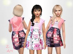The Sims Resource: Fine Fashion by Zuckerschnute20 • Sims 4 Downloads