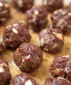 Beef Liver and Onion Meatballs (minus paprika and pepper: AIP)
