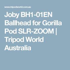 Joby BH1-01EN Ballhead for Gorilla Pod SLR-ZOOM | Tripod World Australia