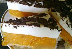 Meruňkovo-jogurtový dort BEZ PEČENÍ Hungarian Cake, Hungarian Recipes, Czech Recipes, Ethnic Recipes, Ice Cream Candy, Sweet Cakes, No Bake Cake, Cake Cookies, Tiramisu