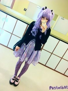 Pastel Goth Chic/Kawaii