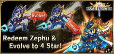 Receive a free hero, ZEPHU, when you like us on Facebook www.fb.com/bravefrontierglobal