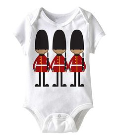 Take a look at this White Castle Guard Bodysuit - Infant by American Classics on #zulily today!