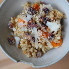 53 Recipes For Your #GlutenFree #Thanksgiving: Roasted Butternut Squash Risotto with Candied Walnuts