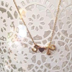 Select Gifts I Love My Dog Gold-Tone Cufflinks Perro De Presa Mallorquin