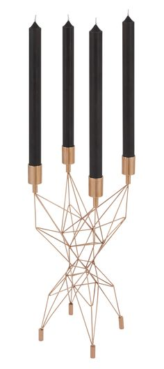 Chandelier Pylon Cuivre - Tom Dixon