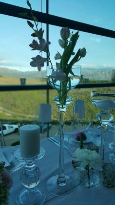 Table setting at Waterkloof Restaurant