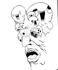 dibujo cara hechas por pacientes con esquizofrenia - Buscar con Google