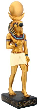 Egyptian Falcon Sculpted Figurine Egypt God Model