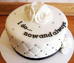 1 anniversary cake - Buscar con Google