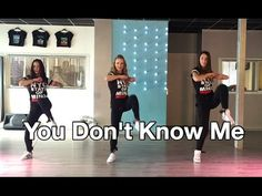 You Don't Know Me - Jax Jones - Watch on computer - HipNThigh Fitness Choreo Dance - YouTube
