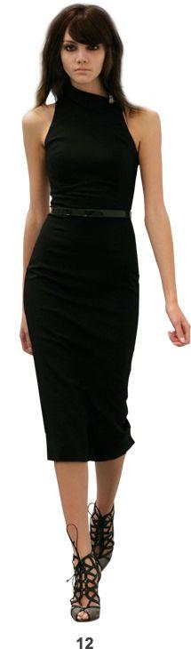 Off the Shoulder, Little Black Dress