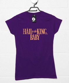 Hail To The King, Baby Womens T-Shirt - Purple / 6-8