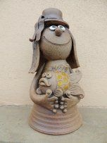 Vodník střední Bird Doodle, Michaela, Garden Sculpture, Doodles, Outdoor Decor, Biscuit, Pasta, Cakes, Design