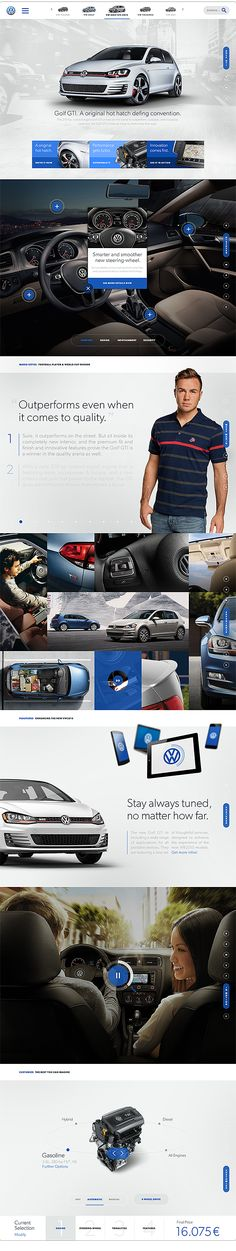 The future of Volkswagen on Behance