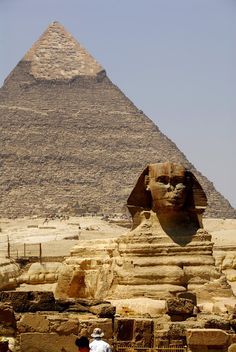Great Sphinx, Gizah, Egypt.