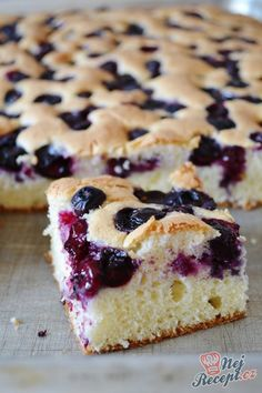 Easy Cake Recipes, Sweet Recipes, Cookie Recipes, Dessert Recipes, Czech Desserts, No Bake Desserts, Torte Cake, Czech Recipes, New Cake