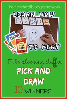 Welcome to day 1 of The 12 Days of Homeschool Giveaways! Here is our first giveaway! Pick and Draw is the absolute perfect stocking stuffer for any child. Pick and Draw Game is a delightfully simple drawing game that anyone and everyone can enjoy using. Great for one person or large groups, everyone will be […]