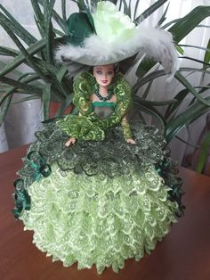 Clothes Crafts, Doll Clothes, Glamour Dolls, Knitted Dolls, Barbie Dolls, Liqueurs, Christmas Ornaments, My Favorite Things, Holiday Decor