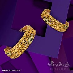 #BANGLECOLLECTION Guess who will be the talk of town. Reliance Jewels Be The Moment. www.reliancejewels.com #reliance #reliancejewels #indianjewellery #beautiful #bridal #neverendingtrend #bethemoment #beyou