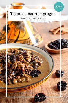 La #tajine di #manzo con #prugne secche è un secondo piatto di carne originario del #Marocco dal sapore molto intenso: ecco la mia ricetta! Io, per dare una nota croccante al piatto, ho aggiunto anche le mandorle a lamelle; ma se preferisci, puoi tranquillamente ometterle.Oltre al couscous, puoi decidere di accompagnare la tua tajine anche a delle patate o del riso pilaf. Anzi, ti dirò di più: prova il mio couscous alla marocchina e l'hummus, per un menù orientale d'eccezione!