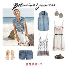 Colorful #patterns and soft #embroideries leave us dreaming of the #sea. We love this cool and #casual #bohemian #style.