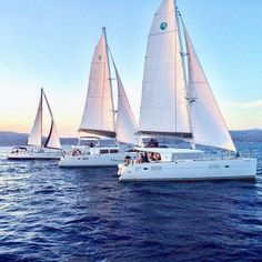 Welcome to santorini catamaran tours City Aesthetic, Retro Aesthetic, Beautiful Islands, Beautiful Places, Santorini Tours, Places Around The World, Around The Worlds, Paradise Places, Cool Pictures