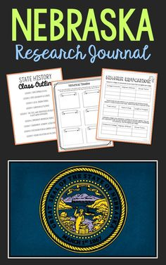 Nebraska State History Research Project. This complete notebook unit is the perfect companion to your annual state studies. Your students will use the internet to research a variety of topics to include: economics, government, geography, politics, current events, higher education, weather, historical figures, Native Americans, state symbols and icons, historic timeline, state flag, folk songs, Westward Expansion, the Civil War, and the Industrial Revolution.