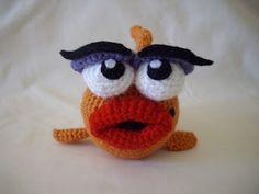 #Free Pattern; crochet; Marilyn the Fancy Fish  ~~