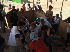 MSF atiende a cientos de heridos tras el brote de violencia en la frontera entre Grecia y la Antigua República Yugoslava de Macedonia