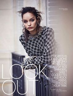 Look Out - Luma Grothe by Ben Morris for Elle Australia September 2015