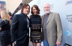 Lauren Cohan Reunites With Scott Wilson on the Red Carpet — See Their Family Photo!