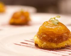 Mini-tatins pomme Carambar : http://www.fourchette-et-bikini.fr/recettes/recettes-minceur/mini-tatins-pomme-carambar.html