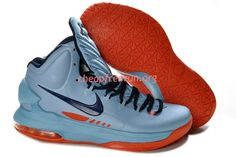 the best attitude 7b547 cd6fa New Nike Zoom KD V Kevin Durant 5 Shoes For Sale ICE Blue Squadron Blue  Total