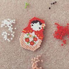 Peyote Stitch Patterns, Beaded Bracelet Patterns, Beading Patterns, Seed Bead Jewelry, Bead Jewellery, Beaded Jewelry, Fuse Beads, Beads And Wire, Peyote Beading