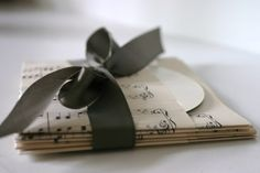 Set of 100 Vintage Sheet Music CD Pockets by paperhill on Etsy, $80.00