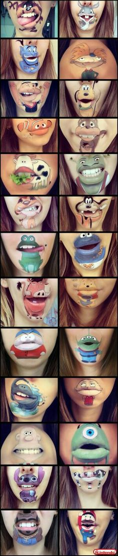 Awesome ideas for lips That you must try....