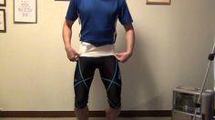 腰痛改善させる「さらし骨盤矯正法」のさらしの巻き方(骨盤編)