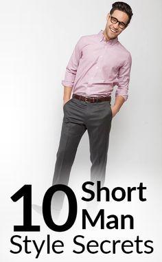 10 Short Man Style Secrets | How To Look Taller | Stylish Tips To Dress Shorter Men