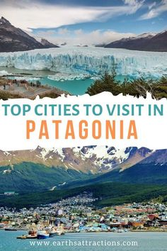 The best cities to visit in Patagonia, Argentina. These are the most amazing places to visit in Argentinian Patagonia - Ushuaia, Bariloche, El Chalten, and more! Earthțs Attractions - travel guides and tips! South America Destinations, South America Travel, Travel Destinations, Holiday Destinations, Patagonia Travel, In Patagonia, Ushuaia, Visit Argentina, Argentina Travel